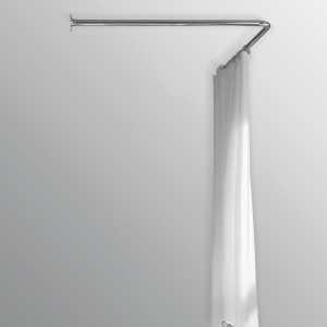 duschstång vinkel sugpropp