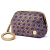 Mini wash bag, Purple, Abahna