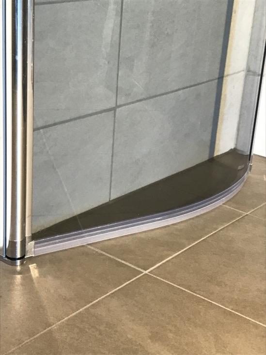 släplist till duschdörr